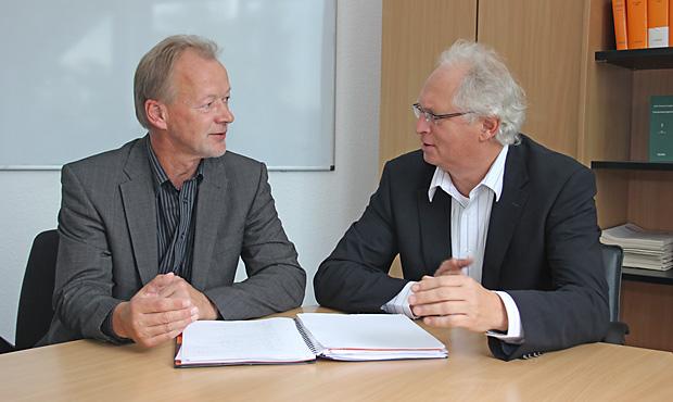 Wilhelm Borchers und Holger Geyer